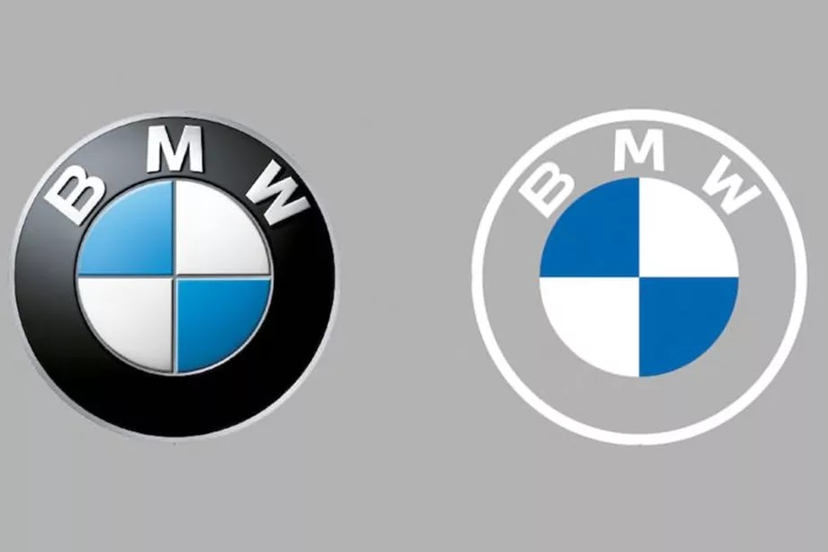 BMWs new flat logo is everything thats wrong with modern logo design
